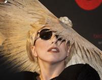 Lady Gaga matką chrzestną synka Eltona Johna