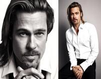 Brad Pitt dla Chanel